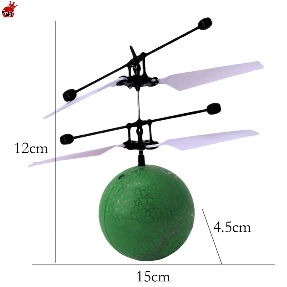 Toy Flying RC flying ball drone LED Light Aircraft Helicopter Induction LED Light Toys best gift drone amazon hot sell toy