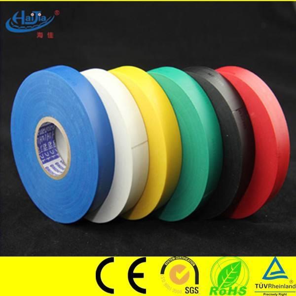 電動テープpvc電気絶縁粘着テープ中国製