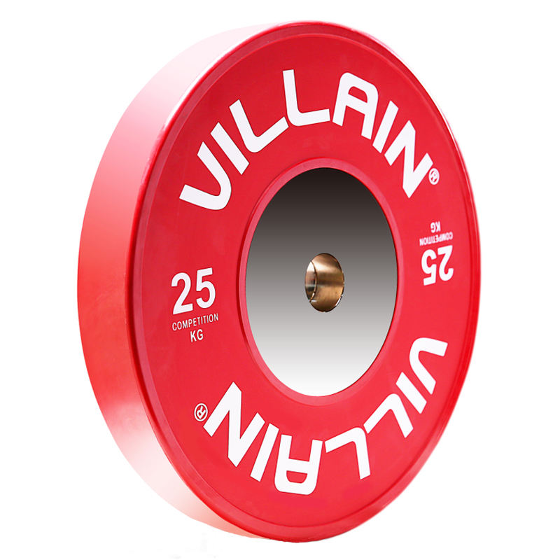2018 5kg--25kg competition rubber bumper weight plate