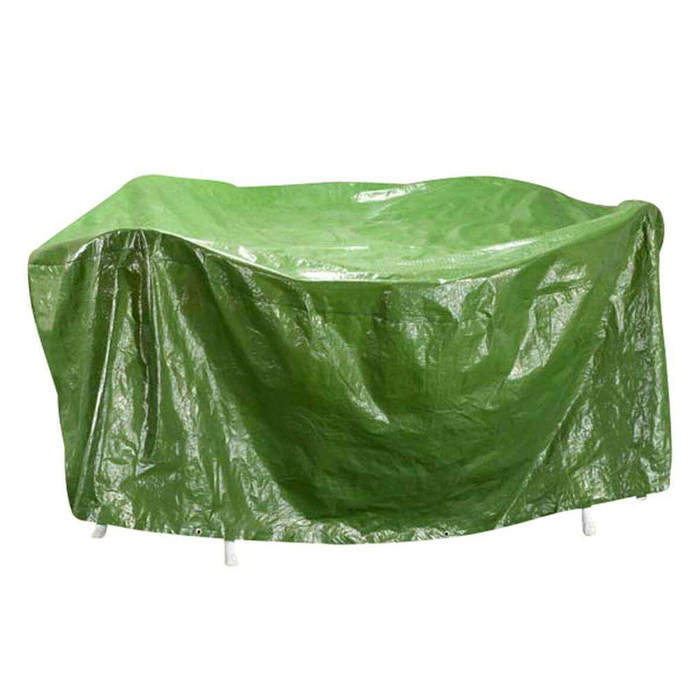 Green Polyethylene Outdoor Furniture Cover,BBQ Cover