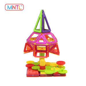 208 pcs Magnetic Blocks Toy Magnet Construction Set Model as New Christmas Gift