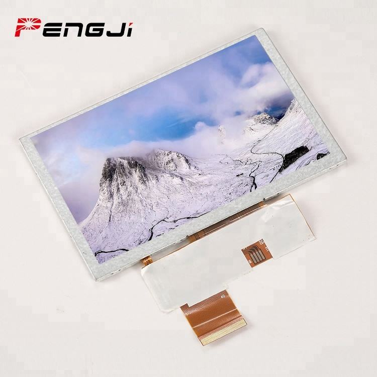 E-ink-display 5 zoll transparent lcd display panels (PJT500H27H31-300P40N)