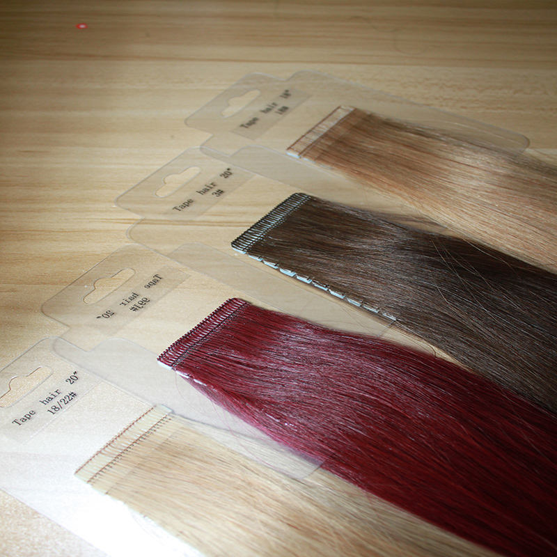 Manka Tape In Human Hair Extensions Double Drawn Remy Straight Bundles