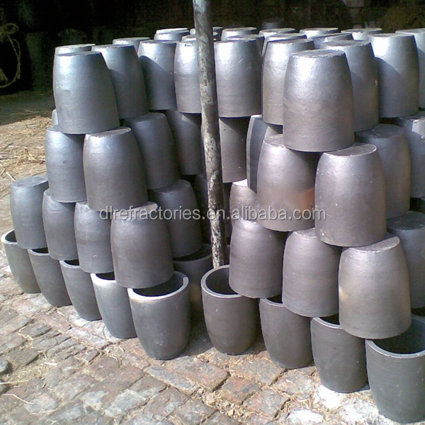 graphite crucibles for aluminium with good heat conductivity