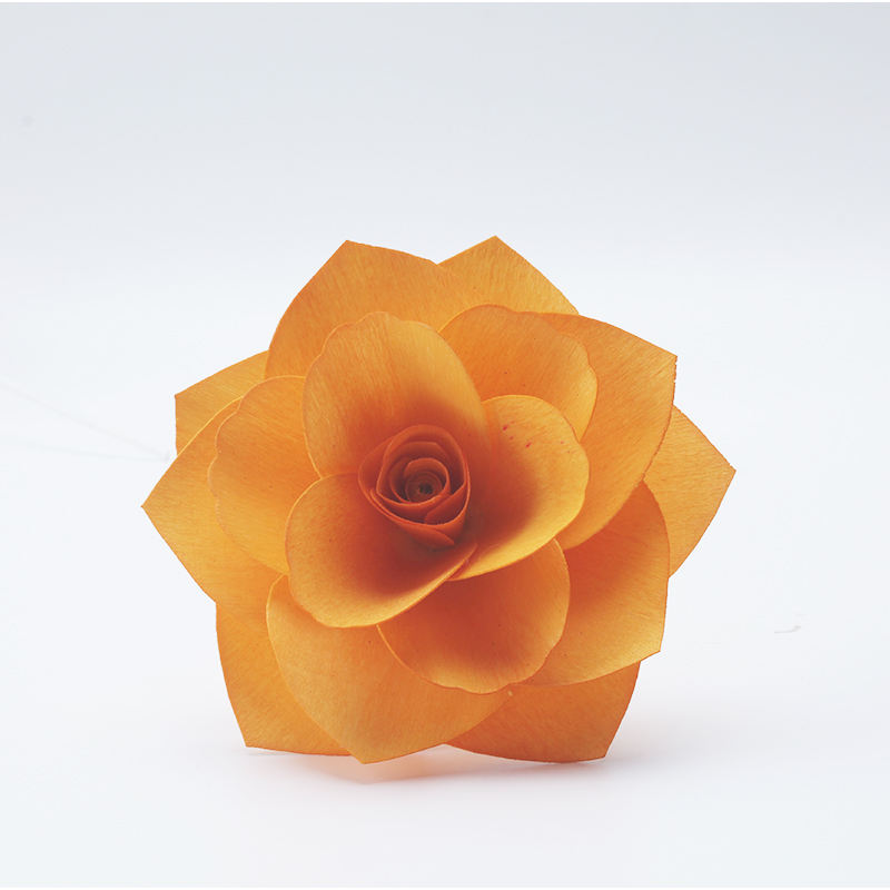 Mescente handmade sola wood rose flower for reed diffuser