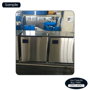 LB300T used industrial restaurant movable commercial banquet kitchen equipment ice making machine