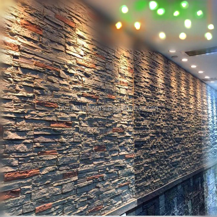 Polyurethane Beauty Cheap Decorative Easy Installation Wall PU faux plastic brick panels for walls