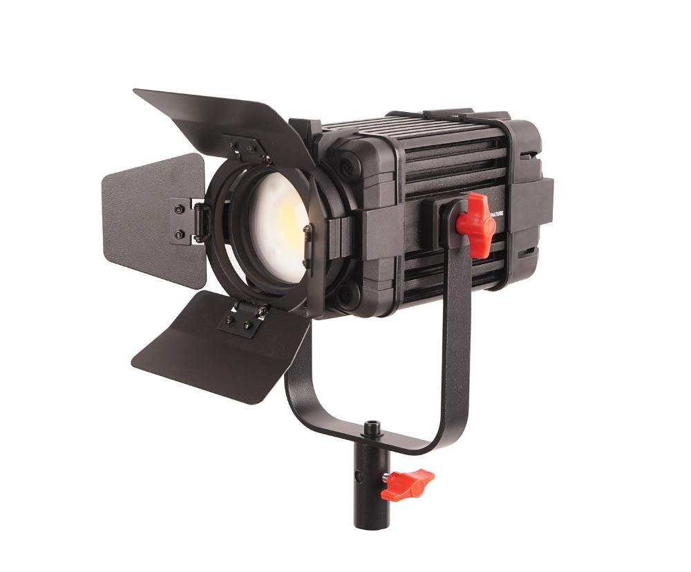 F-100W 1pc CAME-TV 100ワットCOB Type Boltzen Focusable Studio Camera Video Daylight Fresnel Led Lights