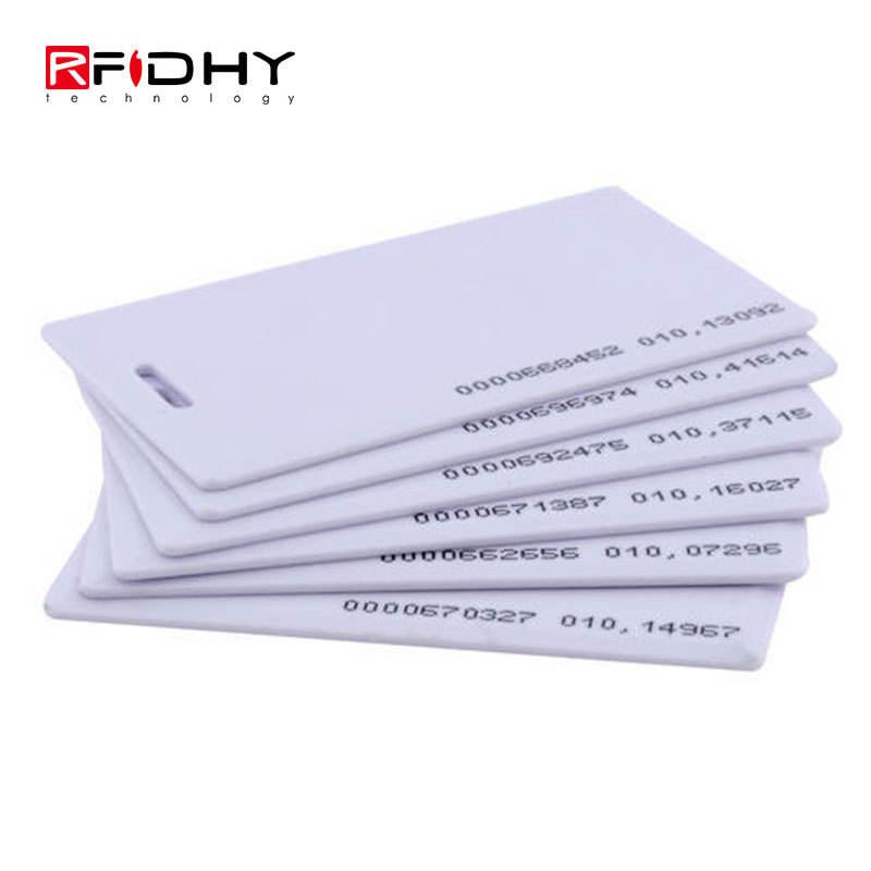 10pcs 125kHz Clamshell EM4100 RFID Nähe Kunststoff-ID-Karten EM Thick Karte