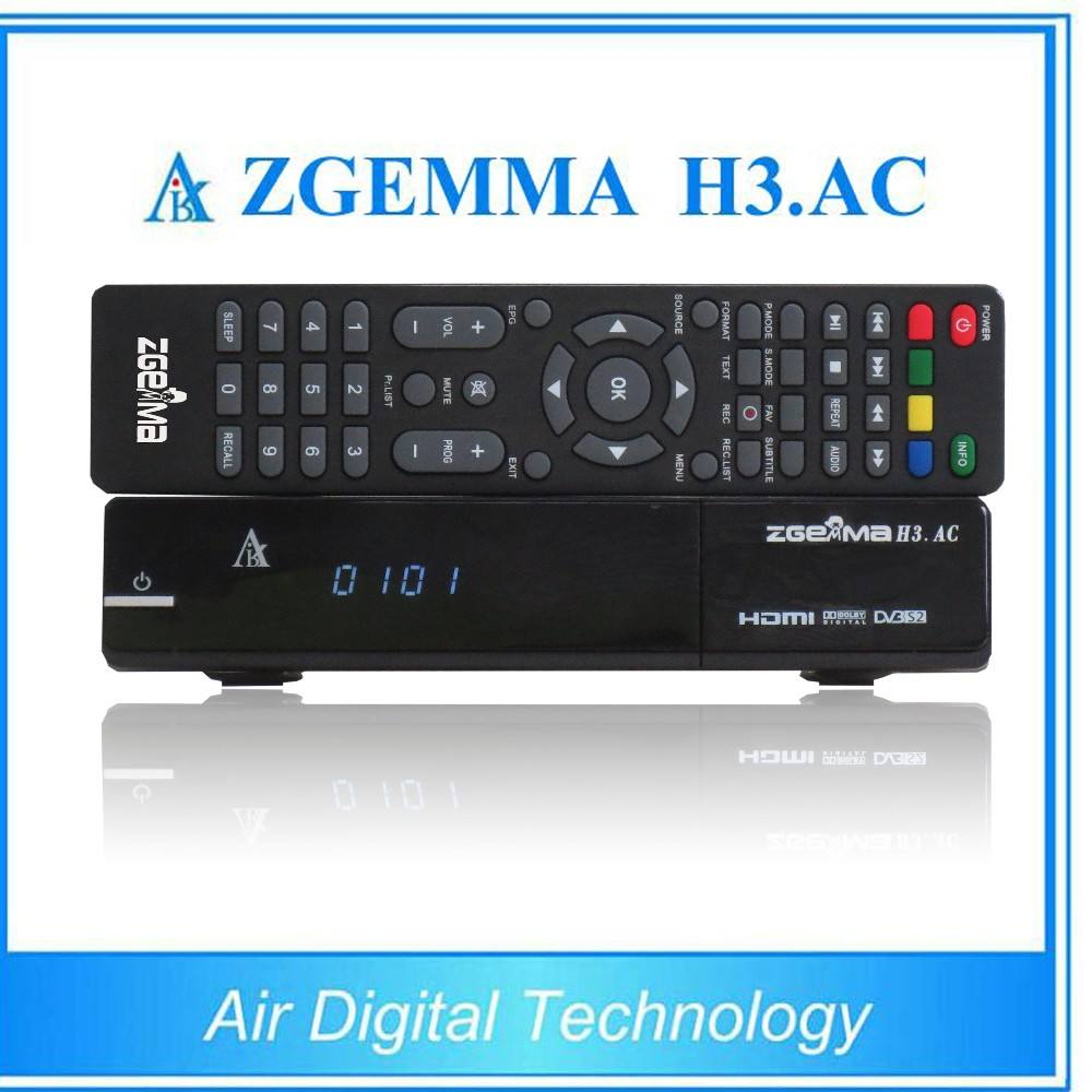 ATSC + DVB S/S2 Linux set top box ZGEMMA H3.AC