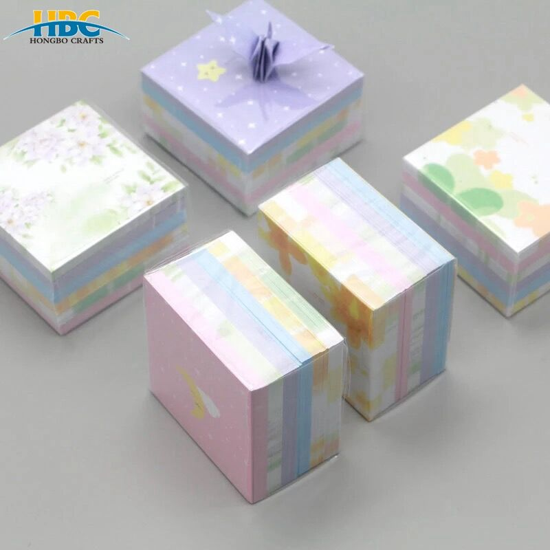 Cheap China Customized Mini Patterned Paper DIY handmade decorative paper / Pocket Memo Pad