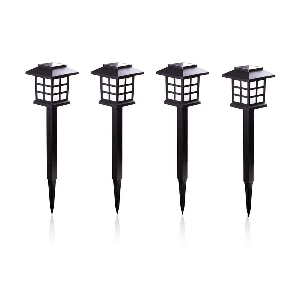 Solar powered LED Pathway Outdoor Waterproof Landscape Yard patio Driveway Stick spike stake Walkway Solar garden line Lights