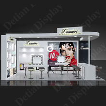 Cosmetic 3x6 3x3 fashion expo stands exhibition booth for sale