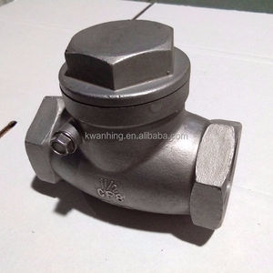 DN50-DN300 150lb Industrial stainless steel cf8m cheap price swing check valveCustoms Data