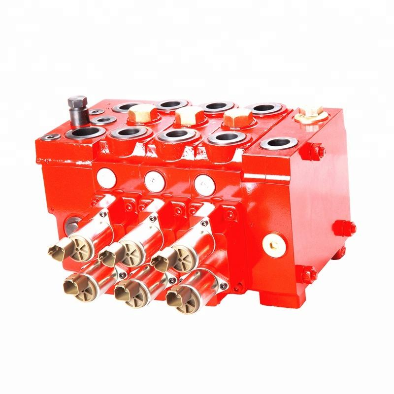 Load-Sensing Sectional Control Block proportional directional valves