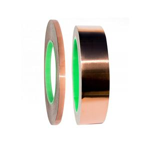 Copper Foil Tape with Conductive Adhesive for Guitar & EMI Shielding, Slug Repellent, Crafts, Electrical Repairs
