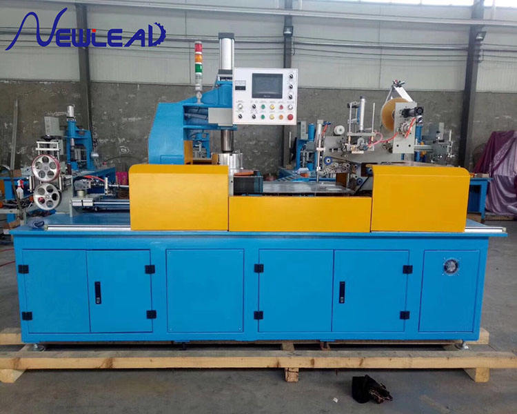 Automatic Cable Coiling Wrapping Machine Rewinding Labeling Packing Winding Machine Wire Spooling Machine All In One