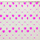 latest designs of light pink heart decorative beads insect screen curtains