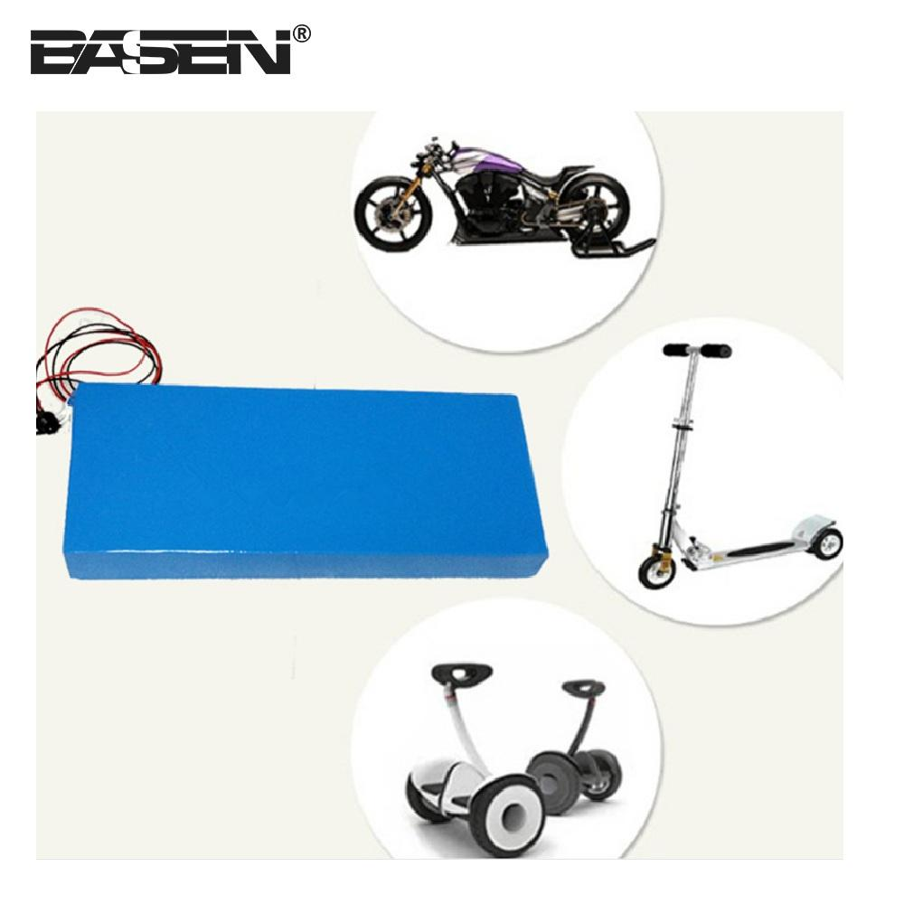 Rechargeable electric bike 60v 12ah lithium ion battery packs