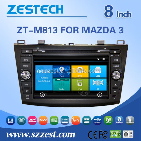 2 din auto radio/gps del dvd dell'automobile Per Mazda 3 9TH Generazione auto radio/car dvd gps Bluetooth SD USB Radio 3G