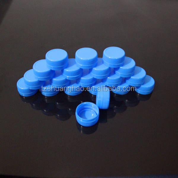 26mm three starting threads plastic water cap for spring water alkaline mineral water