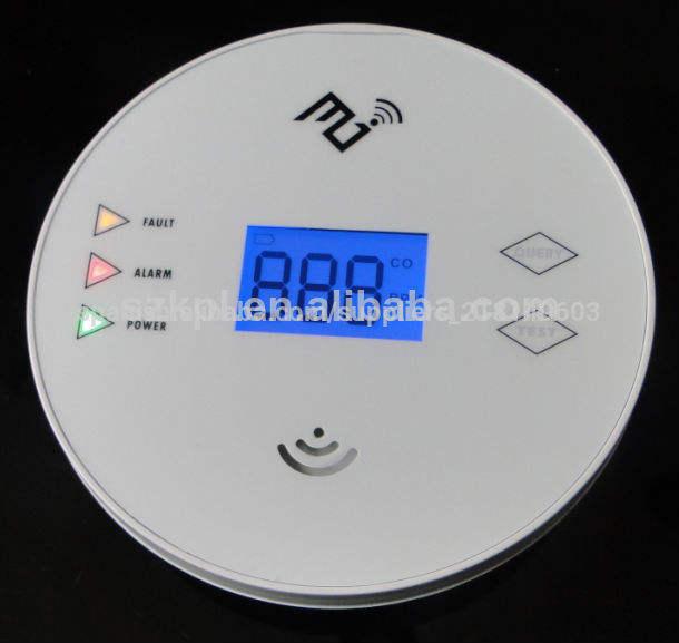 Ampliamente utilizado en el hogar de monóxido de carbono( co) de alarma