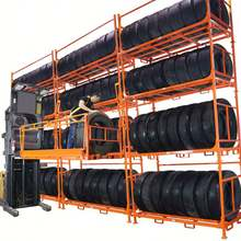Truck Tire display rack storage racking system