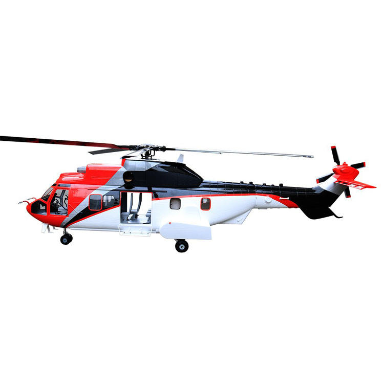 EC-225 700 size Large Scale fiberglass 700 size RC Helicopter Fuselage model helicopter