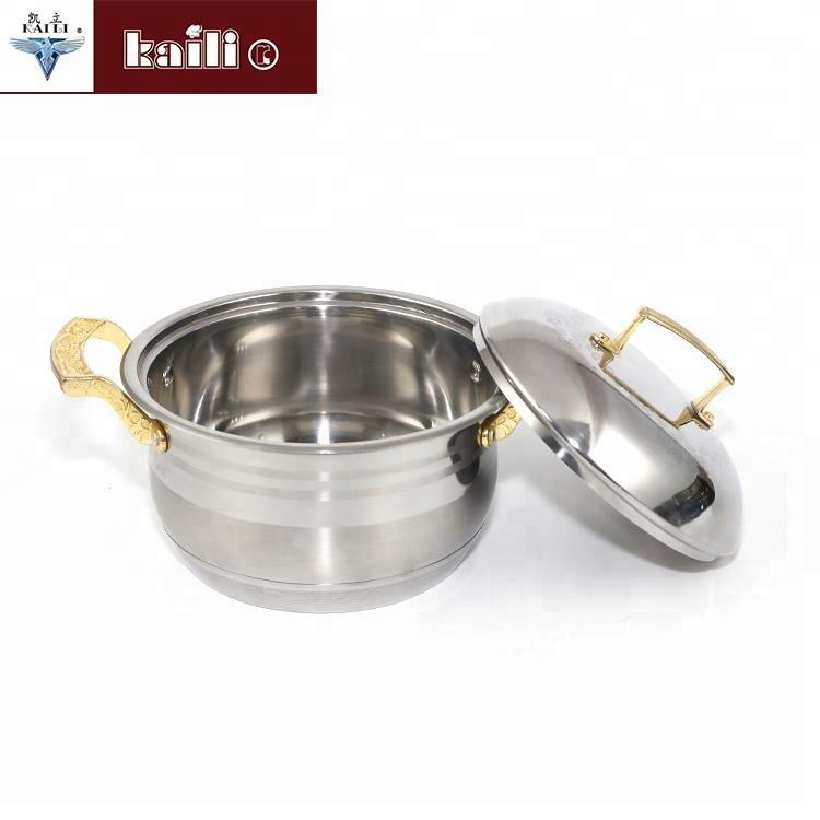 Highest Quality stainless steel Soup StockPot For home kitchen