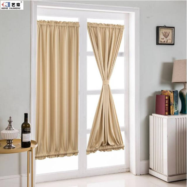 Fashion France and Korea style door and window without screw rod stretch yarn private protect curtain