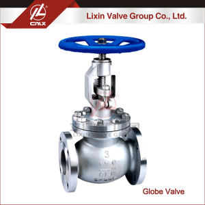 Factory offer medium pressure manual ANSI stainless steel globe valve for gas
