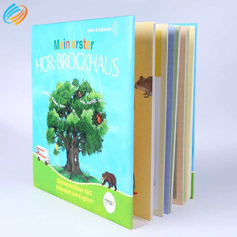 American Style Children Card Board Book Printing Pop Up Colorful Hardcover Comic Activity Cardboard Book Coffee Table Printing