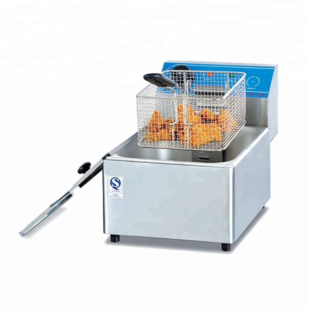 20L Büyük Ticari Elektrikli Fritöz/Derin Fritöz Elektrik Ile Tarifleri Kızarmış Tavuk Için Düşük Fiyatlar