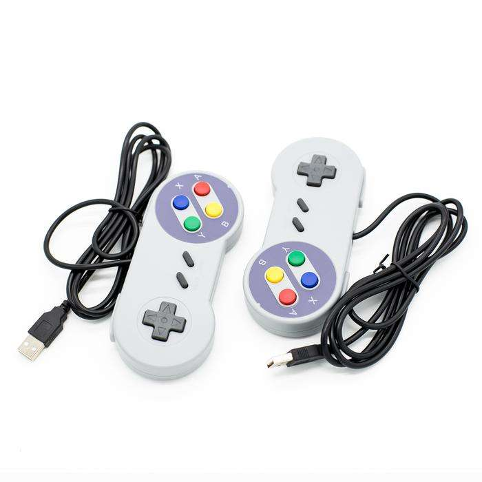 Classic USB Super Game Controller Gamepad for Raspberry Pi Windows PC/MAC