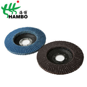 125x22mm 80 Grit Calcined AO Flap Disc Suitable 대 한 Cast 아이언 맨 (Iron