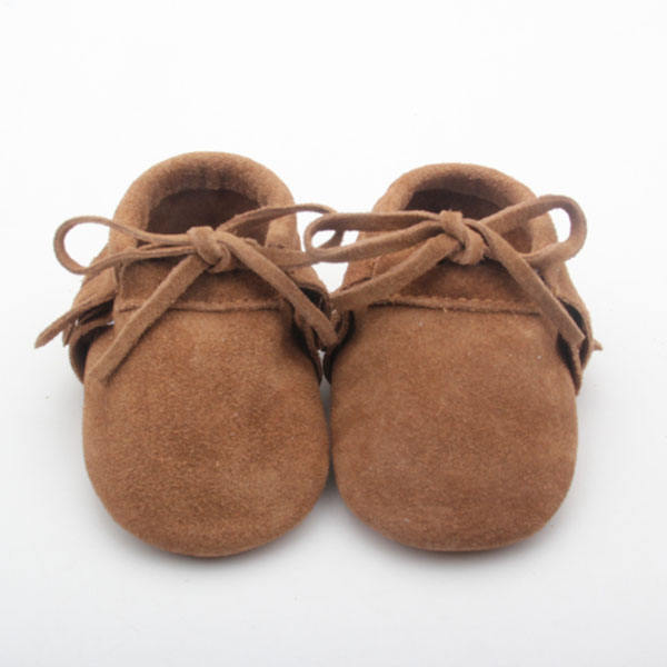 BEIBEINOYA Moccasins Infant Shoes 0-24Month Baby Genuine Leather Shoes EXW Manufacturers Baby Shoes In Bulk