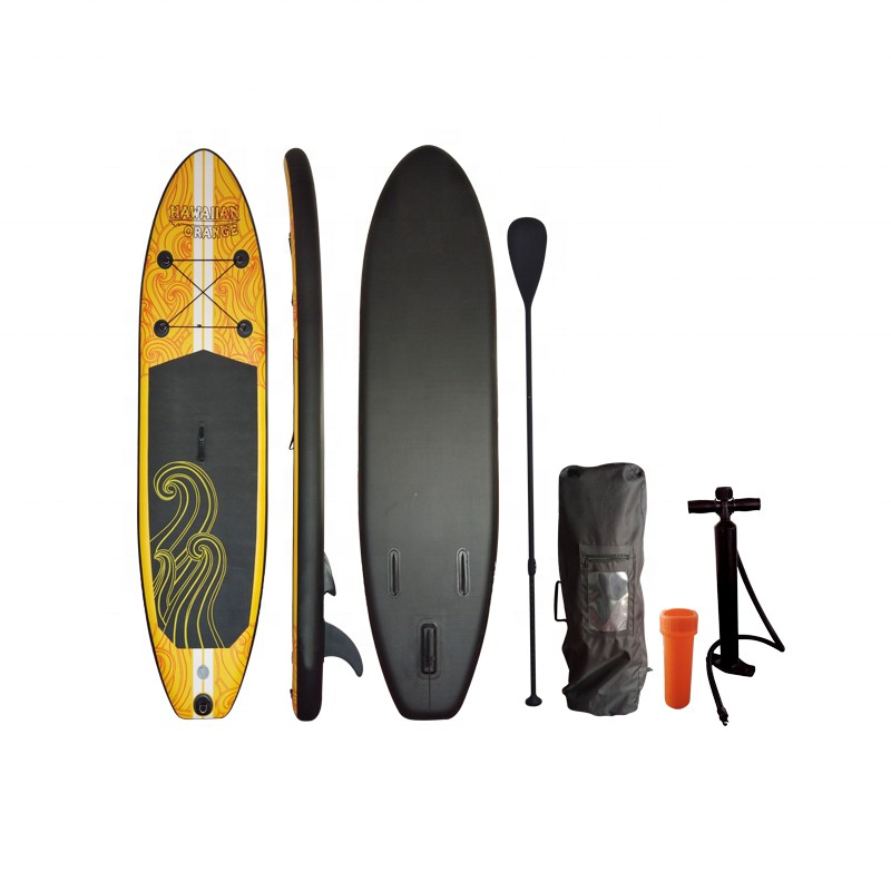 Custom logo inflatable stand up paddle sup board set