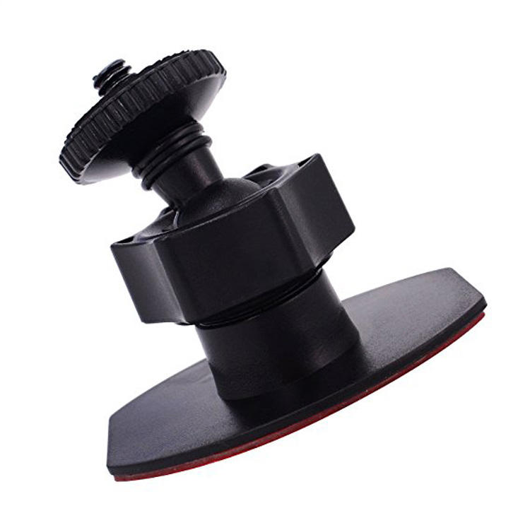 "High Quality 1/4""-20 Thread Mini 3M Adhesive Sticky Camera Mount Tripod Holder Universal For Dash Cam DVR Mount 3m Paste Bracket"