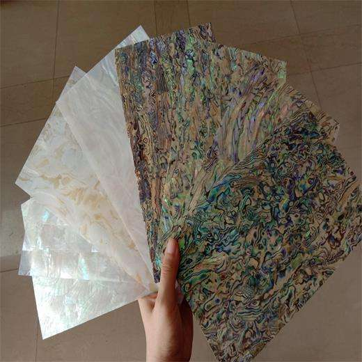 Mexican Paua Abalone Shell Sheets Natural Mother of Pearl Paper