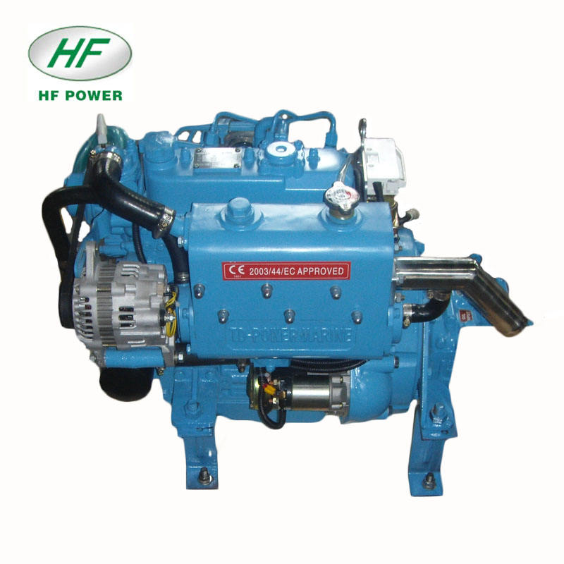 HF-3M78 21hp inboard marine diesel engine with gearbox