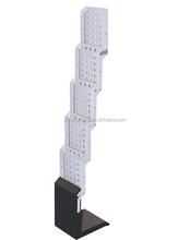 Trade Show Quick Brochure Stand Deluxe A4 Foldable Aluminum Brochure Holder