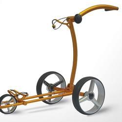 push golf trolley manual brake golf bag trolley