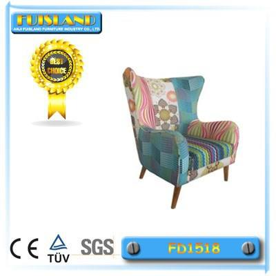 living room patchwork armchair for manicure patchwork recliner armchair