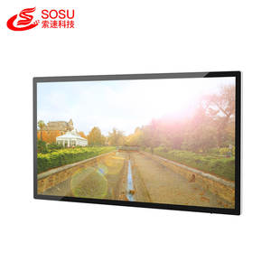 32 inch lcd wall mounted digital advertising player indoor advertising small signage monitor screen for advertising