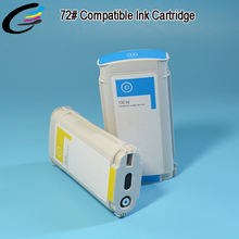 72 Plotter Ink Cartridge for HP DesignJet T610 T790 T1100 Printer