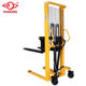 1000KG lift height 1.6meters Manual Hydraulic hand stacker forklift