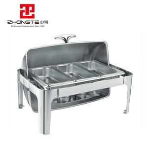 Roll top electric chafing dishes cheap chafer dish hotel restaurant supplies