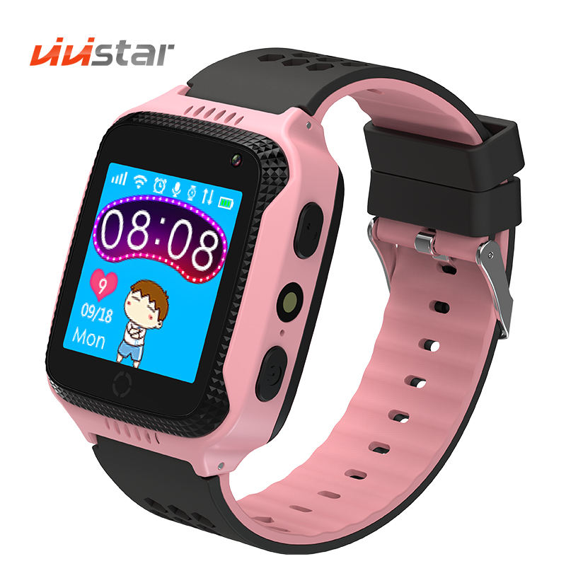 2019 New product kids smart watch Q90 with IP67 waterproof Anti-Lost SOS gps tracking Smart Bracelet 2G