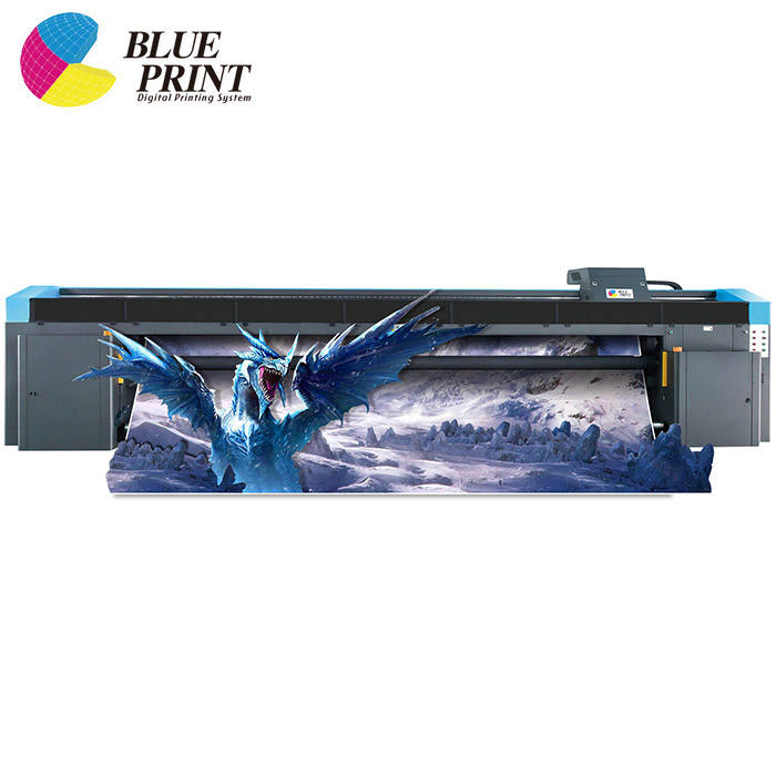 Roll to roll reflective vinyl banner uv printer printing machine manufacturer 5M large format uv printer