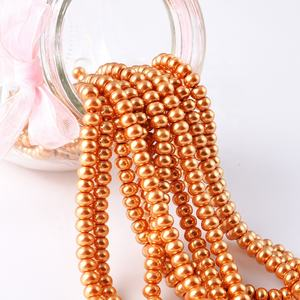 Wholesale Glass Faux Pearl Strands, Crystal Glass Pearl High Imitation Jewelry